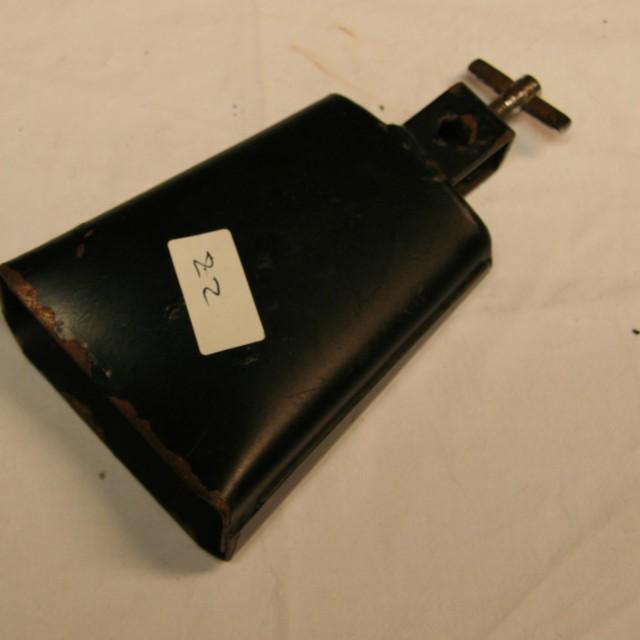 Cowbell 22 zwart 12,5 cm