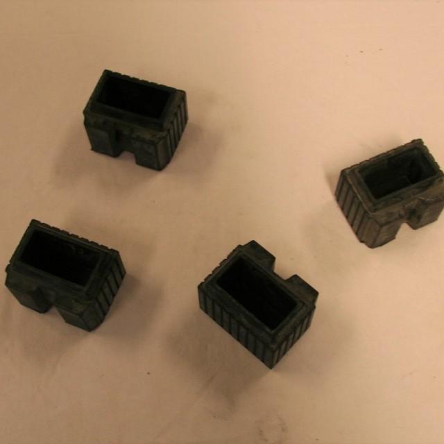 Rackstuff 8 rubber voet 40/20