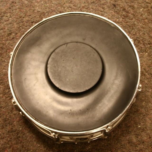 Oefendrumpad 14 inch rubber