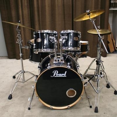 pearl ELX black sparkle 22/10/12/14/14sn bekkenset