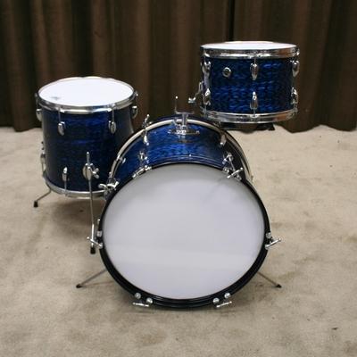 stardrums vintage shellset bleu pearl 20/12/14