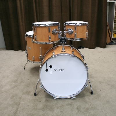 sonor champion natural vintage shellset 22/12/13/16