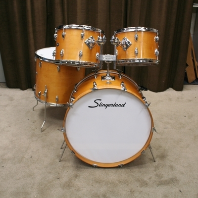 slingerland natural shellset 24/13/14/18