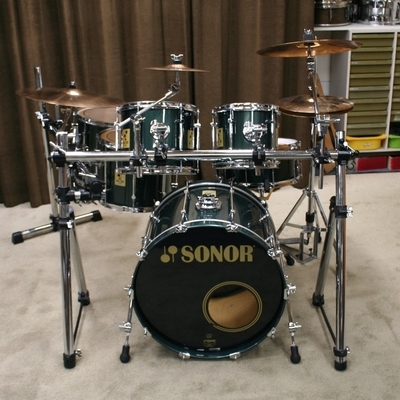 sonor force 3000 stain mint birch 22/10/12/14/16/14sn bekkenset