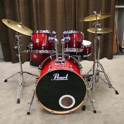 pearl export elx ruby fade