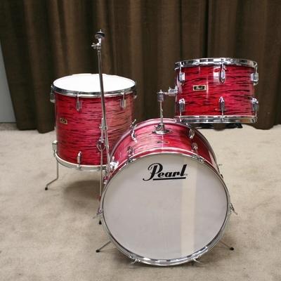 pearl vintage red pearl
