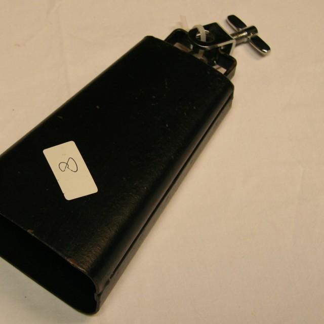 Cowbell 8 zwart 16,5 cm
