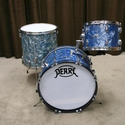 pearl vintage bleu/grijs shellset 20/13/16