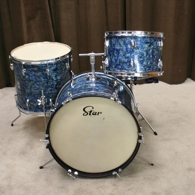 star vintage shellset blue/grey 20/13/16/14sn.