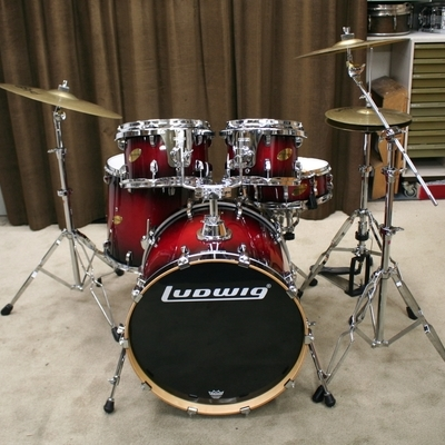 ludwig accent cs custom 22/10/12/16/14sn bekkenset