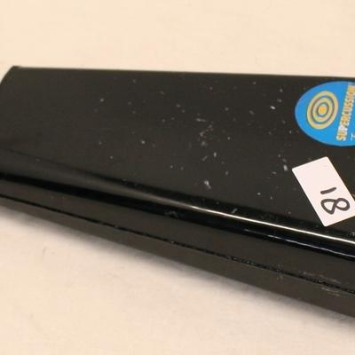 koebel 81 supercussion 22 cm zwart