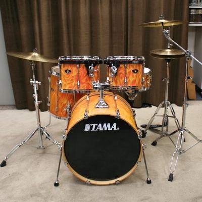 tama superstar orange satin flame 22/12/13/16/14sn bekkenset