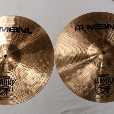 meinl cast bronze 14 hihat medium 995/892