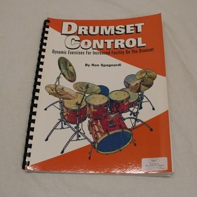 muziekboek 9 drumset control ron spagnardi