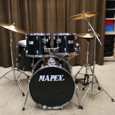 mapex v series zwart 22/12/13/16/14sn bekkenset