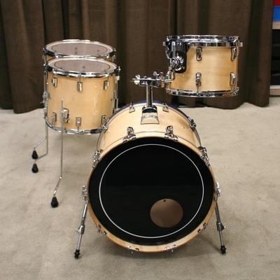 drumcraft / pearl shellset natural 20/12/14/16